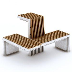 shouka,bench,bench design,exterior design,product design